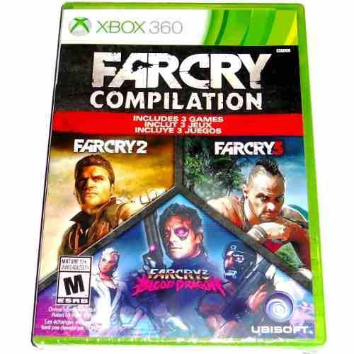 Videojuego far cry compilation xbox 360 físico nuevo