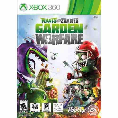 Videojuego plants vs. zombies garden warfare (xbox 360)