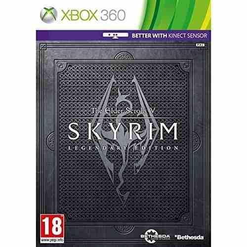 Xbox 360 juego the elder scrolls v skyrim legendary edition