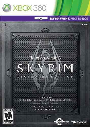 Xbox 360 skyrim legendary edition, nuevo facturamos!!
