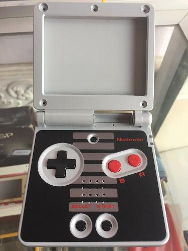 Carcasa game boy advance sp edicion nintendo nes gba sp