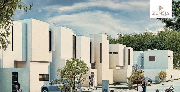 Casas en venta al Norte de Mérida en Privada Zensia,