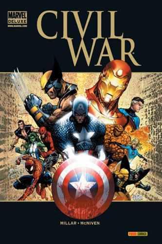 Civil war 1 y 2 colección completa - cómic - vengadores