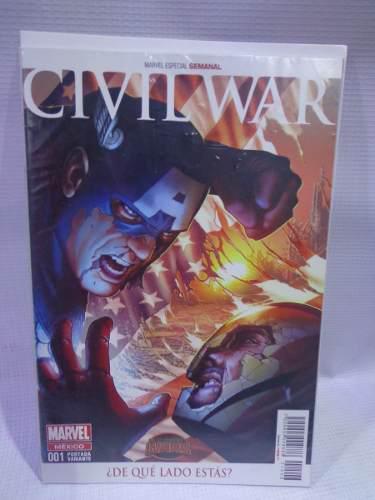 Civil war vol.1 variante 4 secret wars marvel televisa 2015