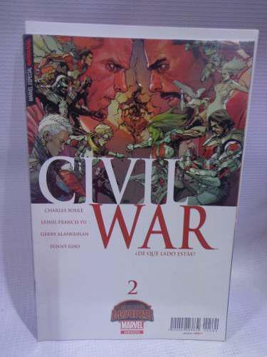 Civil war vol.2 secret wars marvel televisa 2015