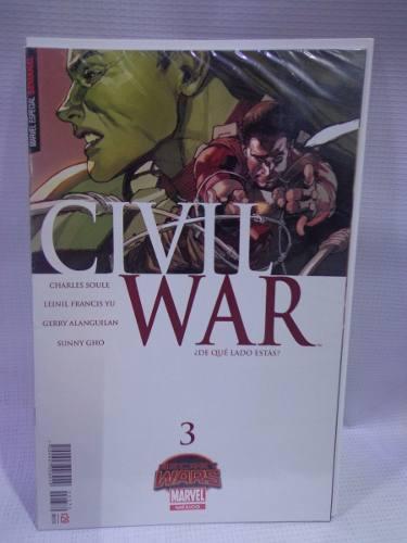 Civil war vol.3 secret wars marvel televisa 2015