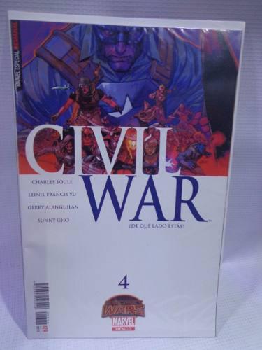 Civil war vol.4 secret wars marvel televisa 2015