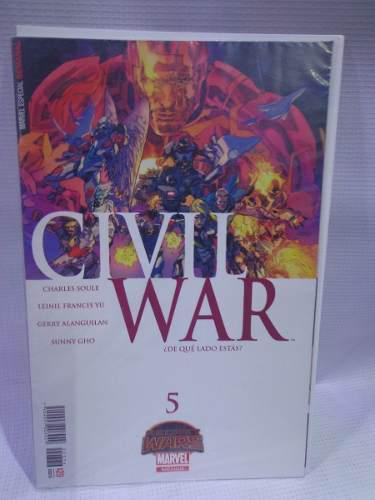 Civil war vol.5 secret wars marvel televisa 2016