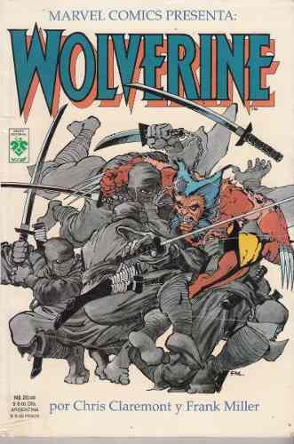 Comic marvel comics wolverine frank miller chris claremont