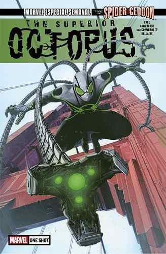 Comic marvel the superior octopus # 1 the edge spider-geddon
