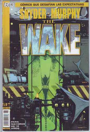 Comic the wake 10 saga completa cartón envío gratis nuevos