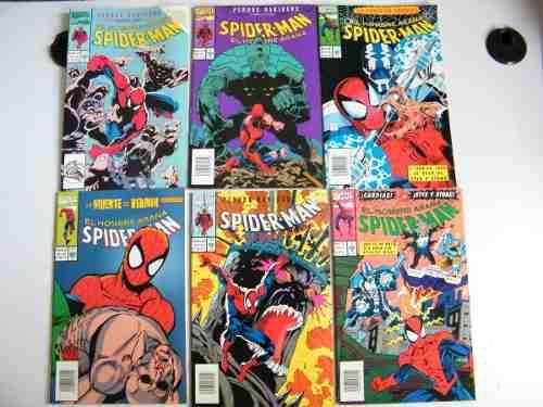 Comics spiderman el hombre araña editorial vid 1990
