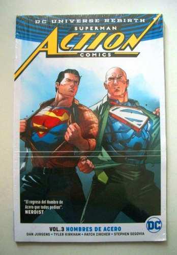 Dc comics superman action comics vol 3 hombres de acero