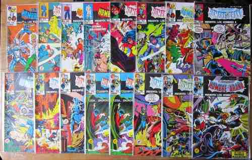 El asombroso hombre araña presenta 192 números 80.00 c/u