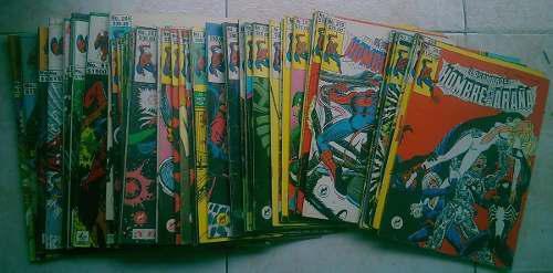 El asombroso hombre araña varios números novedades 1985 92