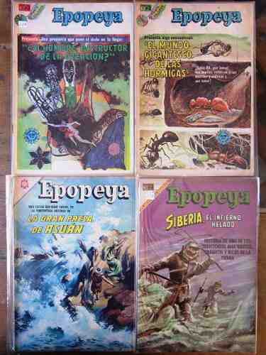 Epopeya edit novaro comics 60's y 70's 38 numeros 45.00 c/u