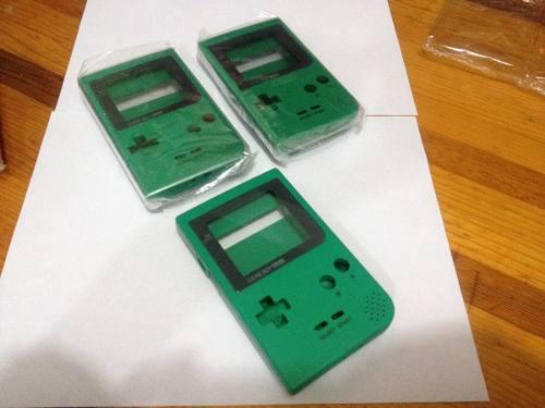 Game boy poket cárcaza verde semi nueva con envío original