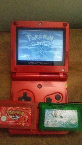 Gameboy advance sp pokemon esmeralda español
