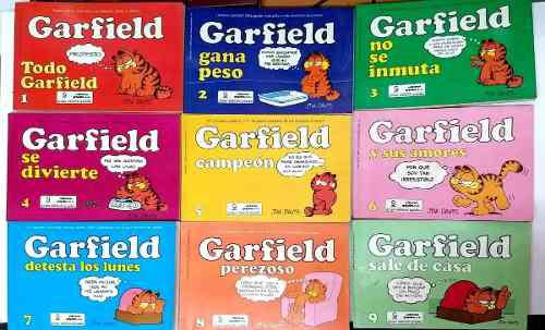 Garfield, por jim davis, editorial grijalbo, 23 tomos