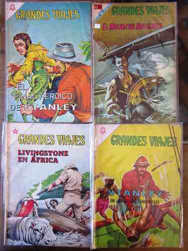 Grandes viajes edit novaro 23 comics 60's y 70's 45.00 c/u