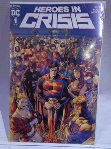 Heroes in crisis vol.1 dc comic televisa 2019