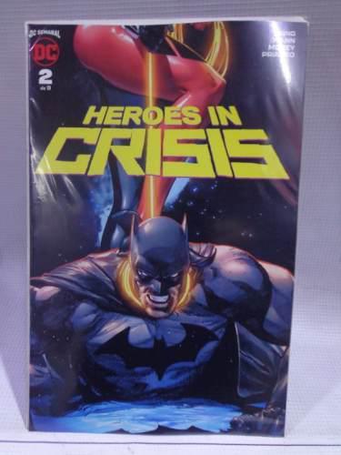 Heroes in crisis vol.2 dc comic televisa 2019
