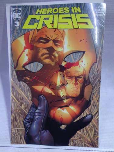 Heroes in crisis vol.3 dc comic televisa 2019