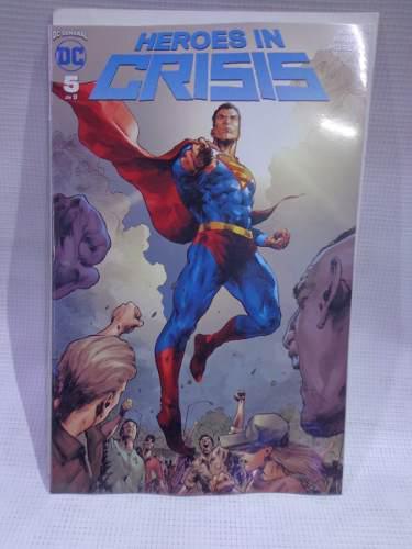 Heroes in crisis vol.5 dc comic televisa 2019