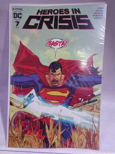 Heroes in crisis vol.7 dc comic televisa 2019