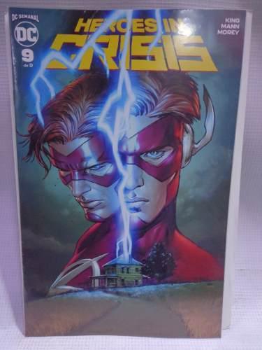 Heroes in crisis vol.9 dc comic televisa 2019