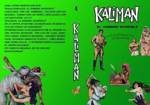 Kaliman misterios de bonampak:la radionovela. envío grátis