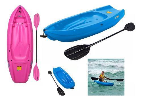 Kayak 1 persona nuevos + chaleco + remo gratis
