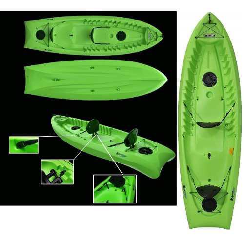 Kayak 2-3 personas nuevos garantía 5 años