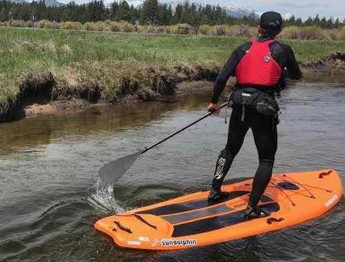 Kayak paddle board sun dolphin 10.