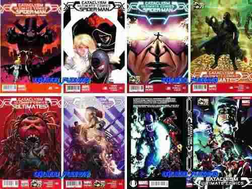 Marvel comics cataclysm ultimate spiderman spider man avenge