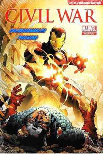 Marvel comics civil war monster edition iron man civilwar