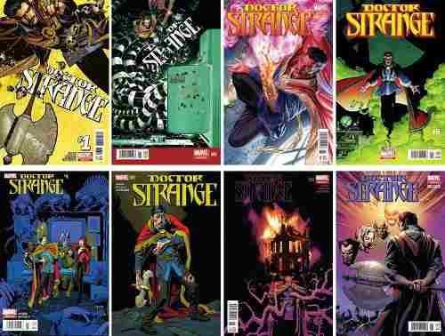 Marvel comics dr strange 1 2 3 4 5 6 7 8 doctor strange all