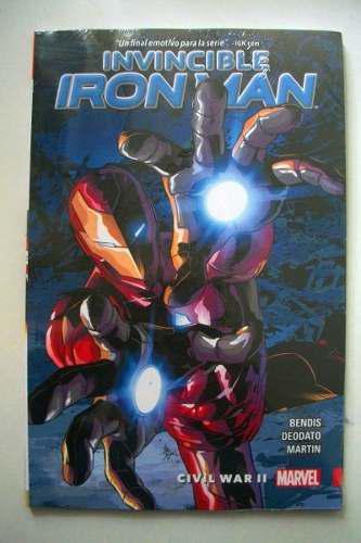 Marvel comics invincible iron man vol 3 civil war 2