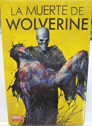 Marvel comics la muerte de wolverine