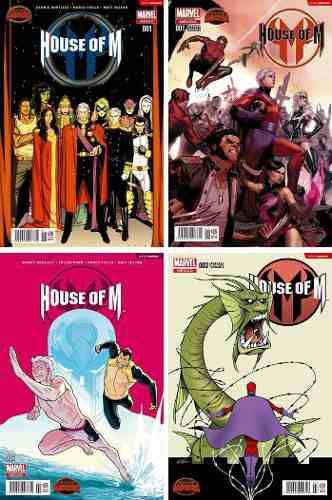 Marvel comics secret wars house of m 1 2 3 variante
