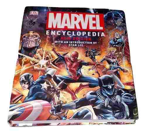 Marvel encyclopedia enciclopedia edicion 2019
