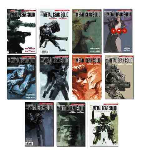 Metal gear solid comic oficial 1 a 12 español nuevos