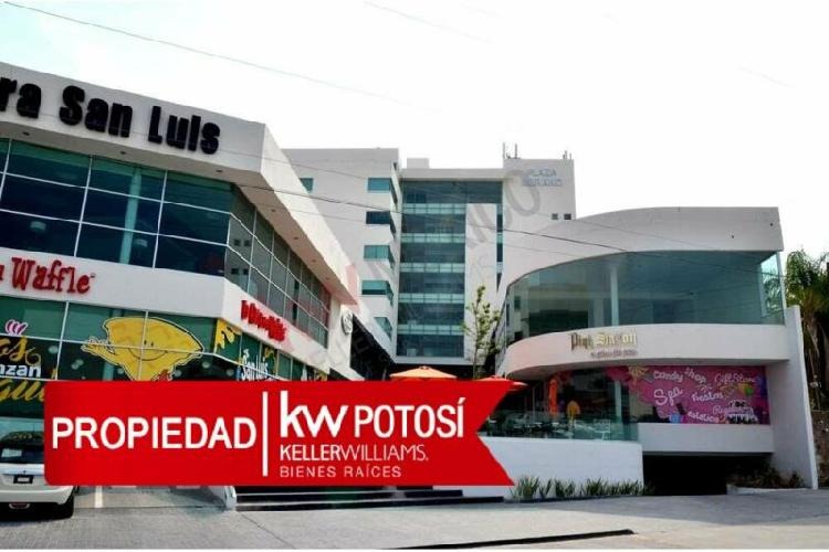Oficinas en renta lomas del tecnoloógico, frente plaza san