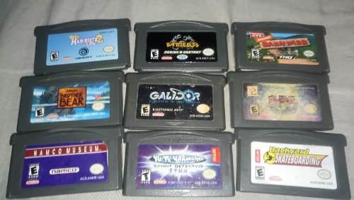Paquete de juegos de gameboy