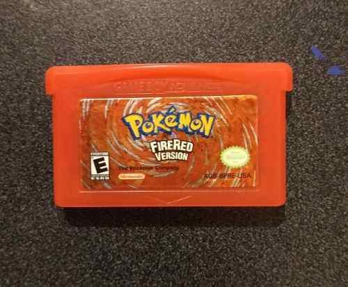 Pokemon: firered. edición especial gameboy advance