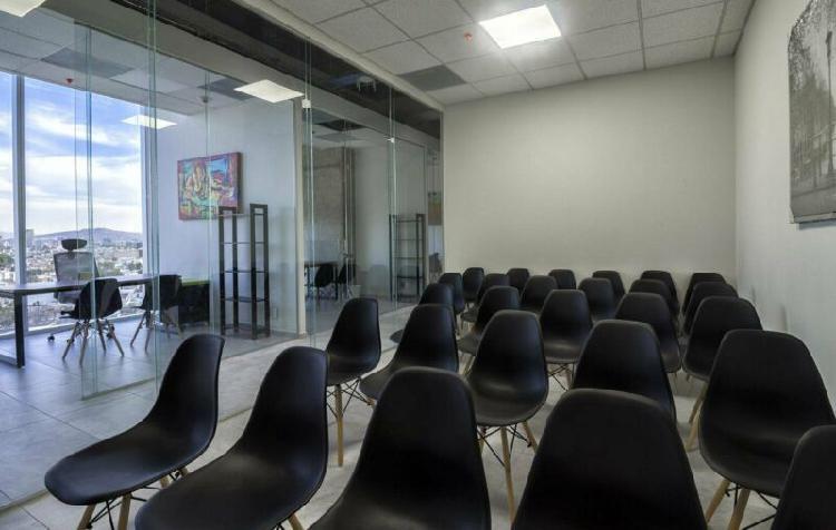 Renta sala de juntas para 25 personas ideal para