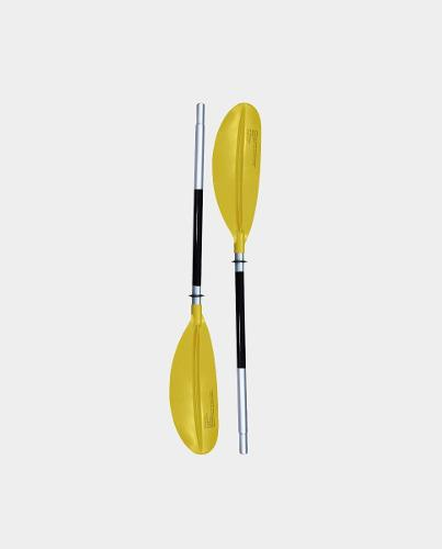 Remos para kayak aluminio pro yellow tail ¡envío gratis!