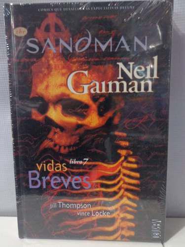 Sandman vol.7 vidas breves vertigo neil gaiman pasta dura