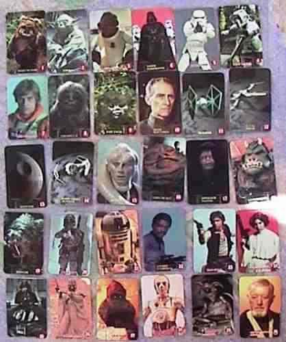 Star wars colección completa! 30 tarjetas gamesa 90´s