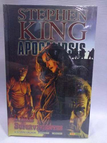 Stephen king apocalipsis vol.3 panini comics pasta dura